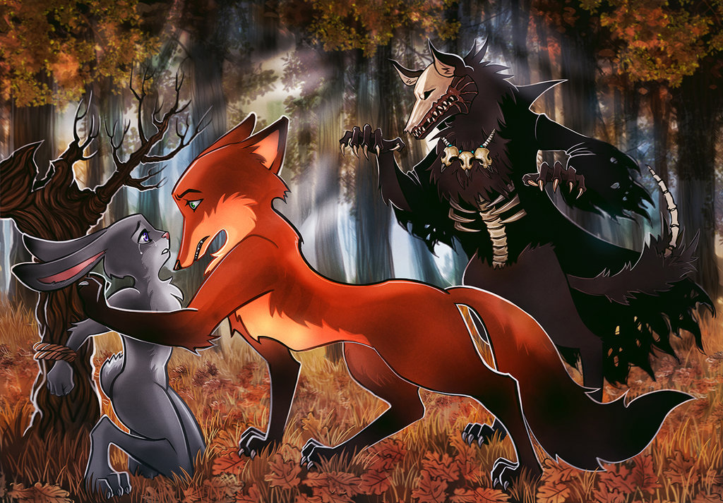 zootopia_commission__nick_and_judy_s_nightmare_by_maxkennedy-dbg1hip